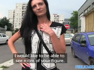 PublicAgent – Laura straight brunette haired