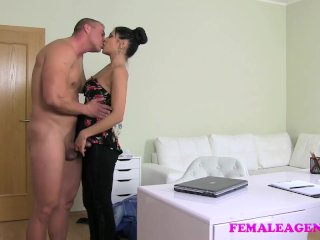 FemaleAgent – Ripped stud eager to fuck MILF