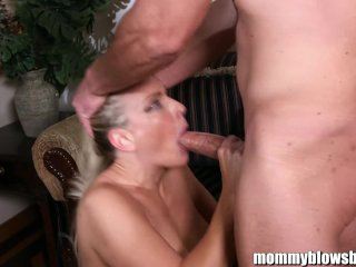 MommBB Busty MILF hired me to blow me