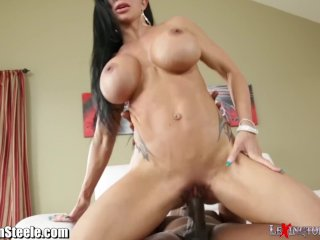 MILF Jewels Jade Takes on 11 inches of Black