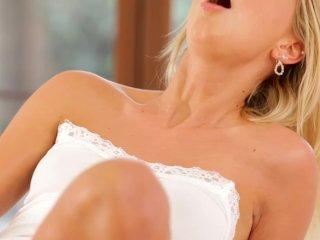 Nubile Films – Blonde self seduction