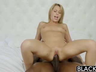 BLACKED Zoey Monroe Takes BBC In Her Ass