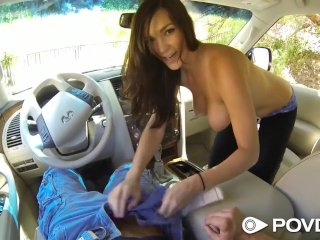 HD POVD – Holly Michaels fucked in the car