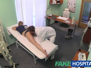 FakeHospital Innocent blonde gets the doctors