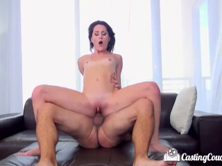 CastingCouch-X – Petite Renee Roulette fucked