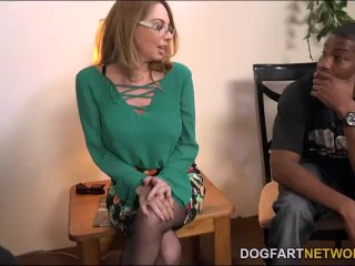Kiki Daire Gets Her Holes Filled With BBCs