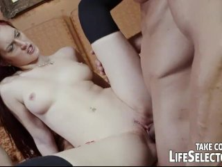 Group sex with schoolgirls in a college
