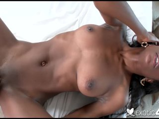 Exotic4K – Sexy ebony Tiffani Taylor facial
