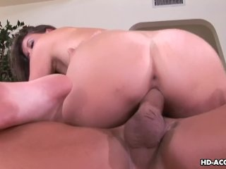 Astonishing and juicy bitch getting fucked wi