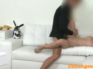 FakeAgent Blonde with amazing natural tits