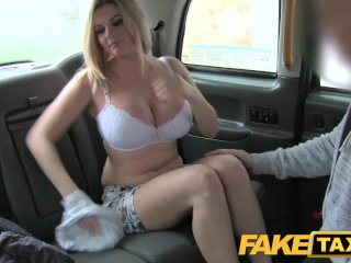 Fake Taxi Busty tv star gets a sticky facial