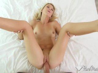 PureMature – Blonde Laura Bentley creampied