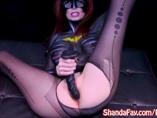Sexy Milf Shanda Fay is A Slutty BatWoman!