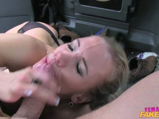 FemaleFakeTaxi Marine gives driver good fuck