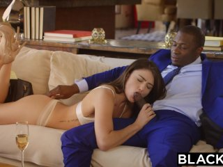 BLACKED First Interracial For Babe Adria Rae