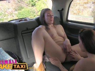 FemaleFakeTaxi Hungarian babe gets dirty