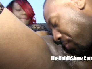 thickred taking that dick beat down freak nut