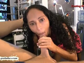 Exotic babe Rosa Ass licker!