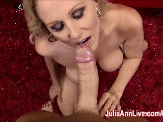 Milf Julia Ann Loves To Suck Cock!