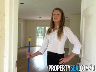 PropertySex – Handyman fucks estate agent