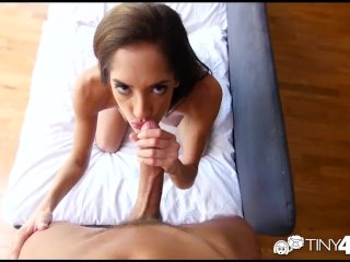 Tiny4K – Skinny Chloe Amour takes a dick deep in her pussy