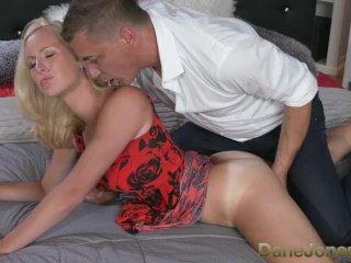 DaneJones Sexy blonde wife sucks and fucks her big dick man