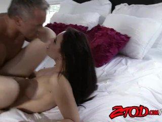 Aidra Fox and Marcus London Fucking on Bed