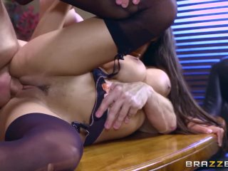 Priya Price gets pounded at work – Brazzers