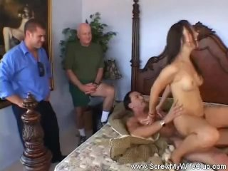 Husband Watches Wife Fucking