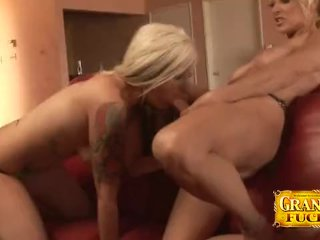 Lana Phoenix And Natasha Skinski Strapon Play
