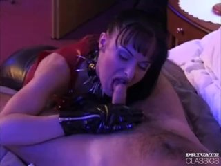 Agness Grimaldi, Fetish and Anal Addict
