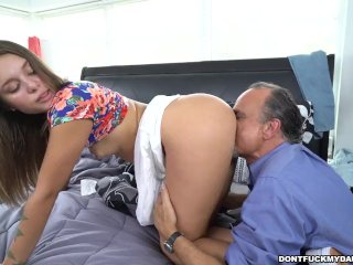 Liza Rowe and Glen hit the bases on Don't Fuck My Daughter (dfmd15212)