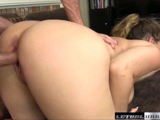 Natasha comes back to get her huge tits fucked