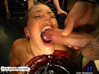 Magdalena and horny friends huge Cum Fiesta – German Goo Girls