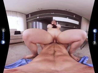 BaDoink VR Busty Latina Milf Gets POV Dick