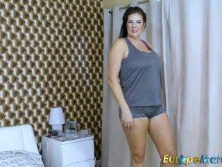 EuropeMaturE Extra Busty Chubby Lulu Lush Solo