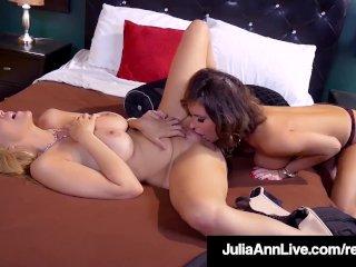 MilfMania With JuliaAnn & Jessica Jaymes Going Lesbi-Crazy!