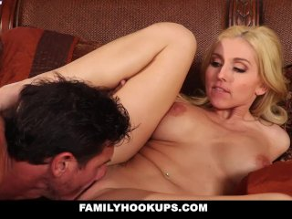 FamilyHookups – Busty Blonde Getting Fucked Hard