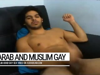 Arab gay Moroccan Hicham's gifts: his beauty and a splendid dick