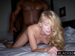 BLACKEDRAW Monster black stud dominates blonde hipster