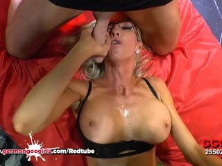 Busty Mature Emma Starr Cum Hungry in Germany – German Goo Girls