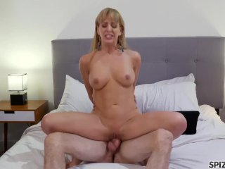Spizoo – Cherie DeVille is fucked by her stepson, big boobs and big booty