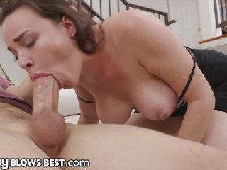 Cougar Mom Dana DeArmond Shows Stepson How She Blows