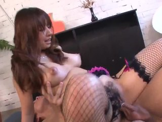 Busty Buruma Aoi sure loves the dick in her tight  – More at 69avs com