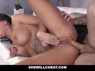 SheWillCheat – Slut Wife Ass Fucked by Friend