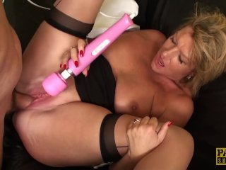 PASCALSSUBSLUTS – Busty MILF Amy dominated by Pascal White