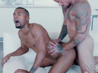 NoirMale Straight Hot Sean Duran & Sexy Big Black Dick Jacen Zhu
