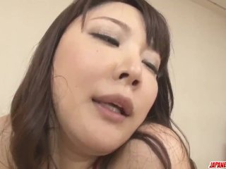 Busty Hinata Komine in scenes of rough threesome – More at Japanesemamas co