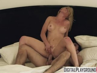 Digital Playground – Hot blonde con artist Kayden Kross can work anyone