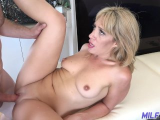 MILF Trip – Horny blonde MILF gets filled with thick dick – Part 2
